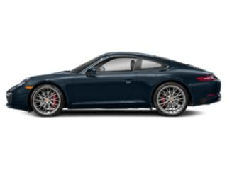 Night Blue Metallic 2017 Porsche 911 Pictures 911 Coupe 2D S H6 Turbo photos side view