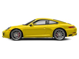 Racing Yellow 2017 Porsche 911 Pictures 911 Coupe 2D S H6 Turbo photos side view