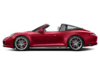 Carmine Red 2017 Porsche 911 Pictures 911 Coupe 2D 4S Targa AWD H6 Turbo photos side view