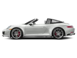 White 2017 Porsche 911 Pictures 911 Coupe 2D 4S Targa AWD H6 Turbo photos side view