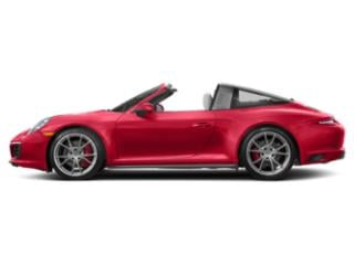 Guards Red 2017 Porsche 911 Pictures 911 Coupe 2D 4S Targa AWD H6 Turbo photos side view