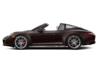 Mahogany Metallic 2017 Porsche 911 Pictures 911 Coupe 2D 4S Targa AWD H6 Turbo photos side view