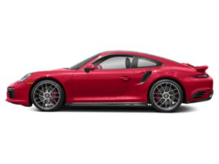 Guards Red 2017 Porsche 911 Pictures 911 Coupe 2D Turbo AWD H6 photos side view