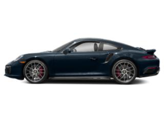 Night Blue Metallic 2017 Porsche 911 Pictures 911 Coupe 2D Turbo AWD H6 photos side view
