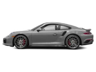Rhodium Silver Metallic 2017 Porsche 911 Pictures 911 Coupe 2D Turbo AWD H6 photos side view