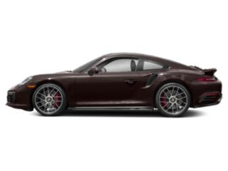Mahogany Metallic 2017 Porsche 911 Pictures 911 Coupe 2D Turbo AWD H6 photos side view