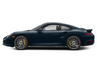 Night Blue Metallic 2017 Porsche 911 Pictures 911 Coupe 2D Turbo S AWD H6 photos side view