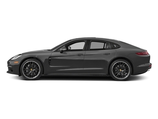 Volcano Grey Metallic 2017 Porsche Panamera Pictures Panamera Hatchback 4D 4 AWD V6 Turbo photos side view