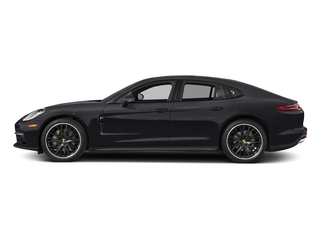 Jet Black Metallic 2017 Porsche Panamera Pictures Panamera Hatchback 4D 4 AWD V6 Turbo photos side view