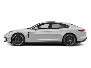 Carrara White Metallic 2017 Porsche Panamera Pictures Panamera Hatchback 4D 4 AWD V6 Turbo photos side view