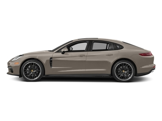 Palladium Metallic 2017 Porsche Panamera Pictures Panamera Hatchback 4D 4 AWD V6 Turbo photos side view