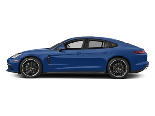 Sapphire Blue Metallic 2017 Porsche Panamera Pictures Panamera Hatchback 4D 4 AWD V6 Turbo photos side view