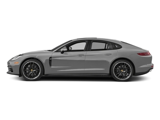Rhodium Silver Metallic 2017 Porsche Panamera Pictures Panamera Hatchback 4D 4 AWD V6 Turbo photos side view