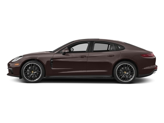 Mahogany Metallic 2017 Porsche Panamera Pictures Panamera Hatchback 4D 4 AWD V6 Turbo photos side view