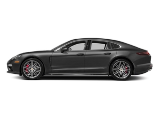Volcano Grey Metallic 2017 Porsche Panamera Pictures Panamera Turbo Executive AWD photos side view