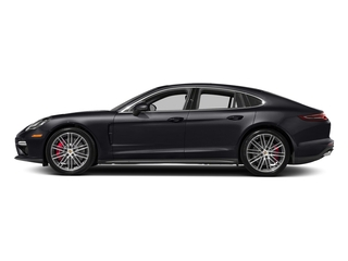 Jet Black Metallic 2017 Porsche Panamera Pictures Panamera Turbo Executive AWD photos side view