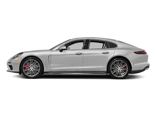 Carrara White Metallic 2017 Porsche Panamera Pictures Panamera Turbo Executive AWD photos side view