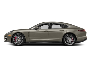 Palladium Metallic 2017 Porsche Panamera Pictures Panamera Turbo Executive AWD photos side view