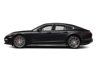 Black 2017 Porsche Panamera Pictures Panamera Turbo Executive AWD photos side view