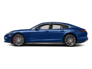 Sapphire Blue Metallic 2017 Porsche Panamera Pictures Panamera Turbo Executive AWD photos side view