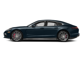 Night Blue Metallic 2017 Porsche Panamera Pictures Panamera Turbo Executive AWD photos side view