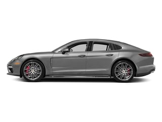 Rhodium Silver Metallic 2017 Porsche Panamera Pictures Panamera Turbo Executive AWD photos side view