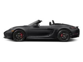 Black 2017 Porsche 718 Boxster Pictures 718 Boxster Roadster 2D S H4 Turbo photos side view