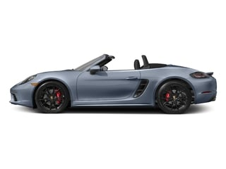 Graphite Blue Metallic 2017 Porsche 718 Boxster Pictures 718 Boxster Roadster 2D S H4 Turbo photos side view