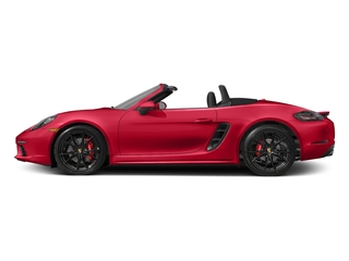 Guards Red 2017 Porsche 718 Boxster Pictures 718 Boxster Roadster 2D S H4 Turbo photos side view