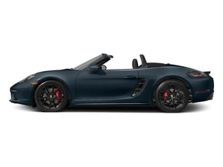 Night Blue Metallic 2017 Porsche 718 Boxster Pictures 718 Boxster Roadster 2D S H4 Turbo photos side view