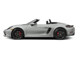 Rhodium Silver Metallic 2017 Porsche 718 Boxster Pictures 718 Boxster Roadster 2D S H4 Turbo photos side view