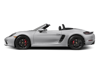 GT Silver Metallic 2017 Porsche 718 Boxster Pictures 718 Boxster Roadster 2D S H4 Turbo photos side view