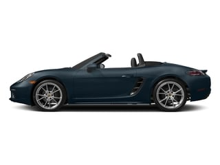 Night Blue Metallic 2017 Porsche 718 Boxster Pictures 718 Boxster Roadster 2D H4 Turbo photos side view