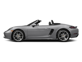 GT Silver Metallic 2017 Porsche 718 Boxster Pictures 718 Boxster Roadster 2D H4 Turbo photos side view