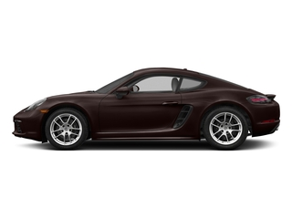 Mahogany Metallic 2017 Porsche 718 Cayman Pictures 718 Cayman Coupe 2D H4 Turbo photos side view