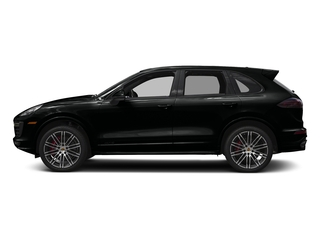 Jet Black Metallic 2017 Porsche Cayenne Pictures Cayenne Utility 4D GTS AWD V6 Turbo photos side view