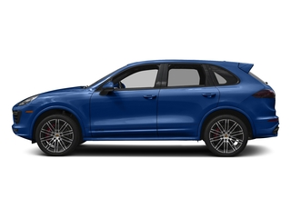 Sapphire Blue Metallic 2017 Porsche Cayenne Pictures Cayenne Utility 4D GTS AWD V6 Turbo photos side view