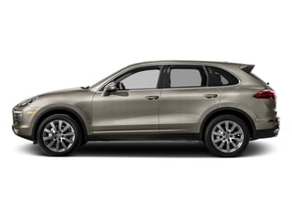 Palladium Metallic 2017 Porsche Cayenne Pictures Cayenne Utility 4D S AWD V6 Turbo photos side view