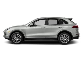 Rhodium Silver Metallic 2017 Porsche Cayenne Pictures Cayenne Utility 4D S AWD V6 Turbo photos side view