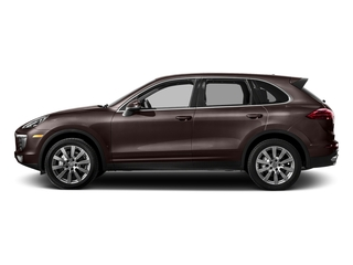 Mahogany Metallic 2017 Porsche Cayenne Pictures Cayenne Utility 4D S AWD V6 Turbo photos side view
