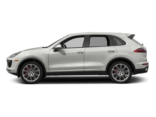 White 2017 Porsche Cayenne Pictures Cayenne Utility 4D S AWD V8 Turbo photos side view