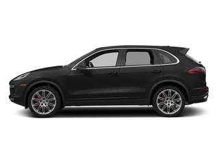 Black 2017 Porsche Cayenne Pictures Cayenne Utility 4D S AWD V8 Turbo photos side view