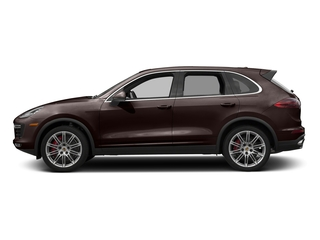 Mahogany Metallic 2017 Porsche Cayenne Pictures Cayenne Utility 4D S AWD V8 Turbo photos side view