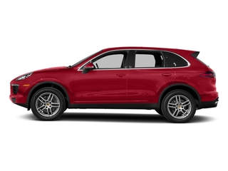 Carmine Red 2017 Porsche Cayenne Pictures Cayenne AWD photos side view
