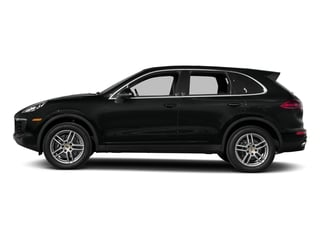Jet Black Metallic 2017 Porsche Cayenne Pictures Cayenne Utility 4D AWD V6 photos side view