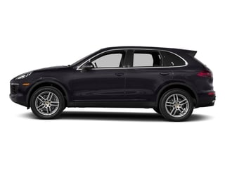 Purpurite Metallic 2017 Porsche Cayenne Pictures Cayenne Utility 4D AWD V6 photos side view