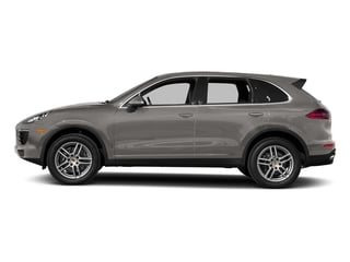 Meteor Grey Metallic 2017 Porsche Cayenne Pictures Cayenne Utility 4D AWD V6 photos side view