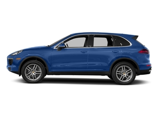 Sapphire Blue Metallic 2017 Porsche Cayenne Pictures Cayenne Utility 4D AWD V6 photos side view