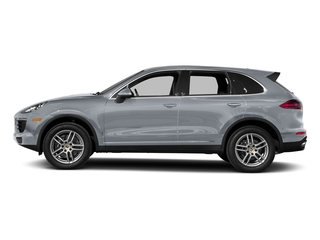 Rhodium Silver Metallic 2017 Porsche Cayenne Pictures Cayenne Utility 4D AWD V6 photos side view