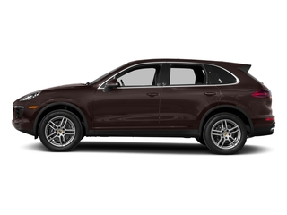 Mahogany Metallic 2017 Porsche Cayenne Pictures Cayenne Utility 4D AWD V6 photos side view